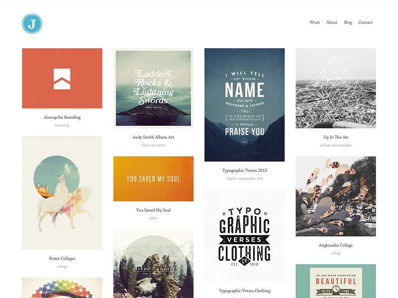 New Website for 2014 website redesign portfolio
