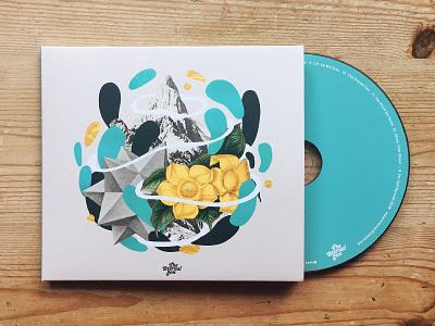 The Eternal Son - CD music album artwork collage merch cd