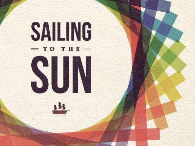 Sailing To The Sun cover mix colours designersmx
