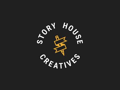 Story House bookmark branding logo