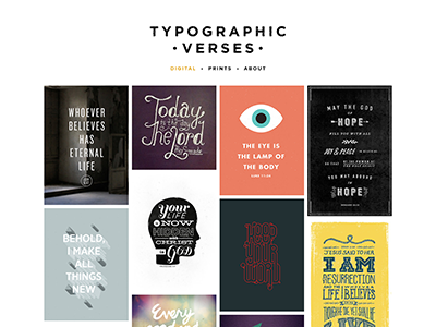 Soon website new posters prints typography