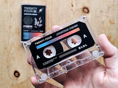 Twenty Four Beat Tape cover art album art cassette tape