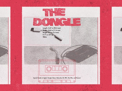 Dongles illustration type dongles