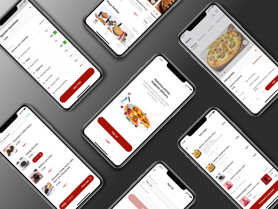Pizza delivery app redesign home screen menu onboarding figma mockups button button design uxdesign app ui ux web product designs product designer product design productdesign ui design uxui ux design ui ux user ux  ui design