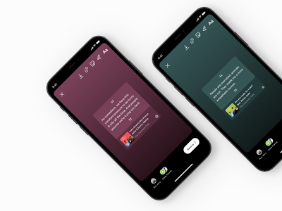 Instagram stories-New podcast feature for Spotify tab user experience ux copy music app design music app ui podcast modal window button design icon design cards ui instagram instagram stories spotify clean ui ux design productdesign user interface uiux uxdesign app design