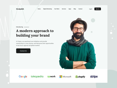 Startup design agency landing page minimal uiux startup mobile website uidesign typography design ui ux design trendy design product design dribbble best shot designer best shot 2021 trend agency website agency landing page agency branding