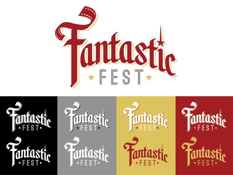 Fantastic Fest logo contest entry logos movies fantastic fest austin film graphic designer design logo alamo drafthouse concept branding