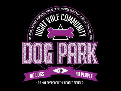Welcome to Night Vale T-Shirt Design Concept t-shirts graphic design night vale dog park