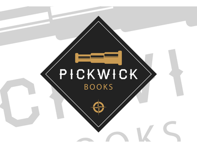 Pickwick Books logo imprint pickwick books exploration explore logos logo