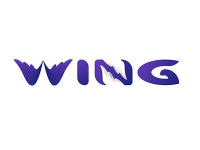 Wing negative space logo modern logo flat logo logos logotype logomark logodesinger logomaker logodesigns logodesigner logodesign logo
