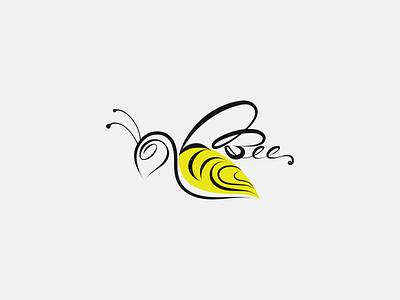 Bee minimalist logo logos logotype logoinspiration logomark logodesinger logomaker logodesigns logodesigner logodesign logo