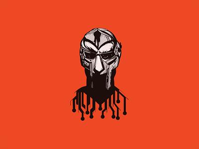 DOOM handmade hiphop music madvillain new mfdoom doom illustration