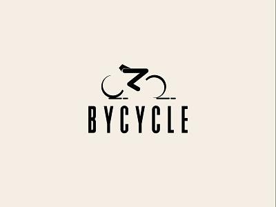 BICYCLE LOGO branding app designs minimal icon letter vector logo maker logo ux ui illustrator design