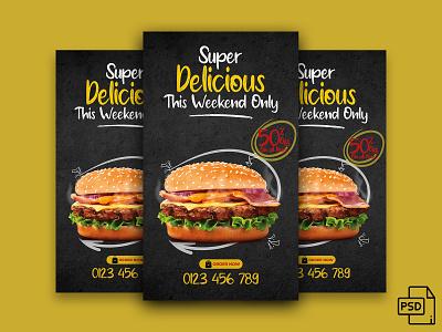 Super Delicious Food banner illustrator illustration icon vector design typography . photoshop adobe banner branding graphic design