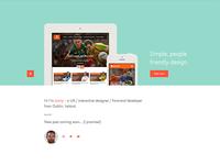 Portfolio site launched :)