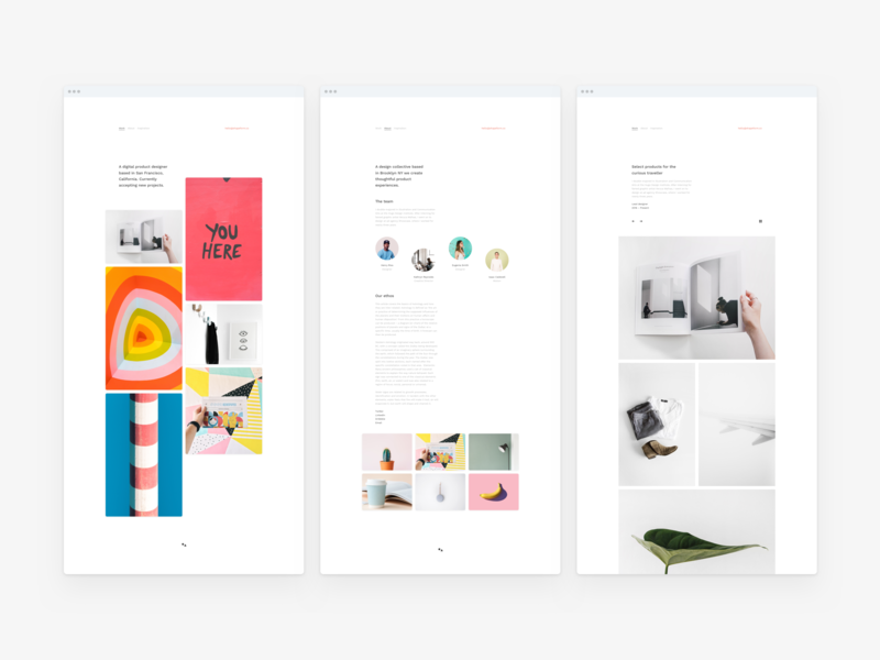 Themes for content creators web design agency web desgin gallery light studio portfolio theme design showcase responsive grid typography minimal