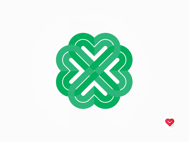 St Patricks Clover vancouver clover icon graphic design cullimore personal brand