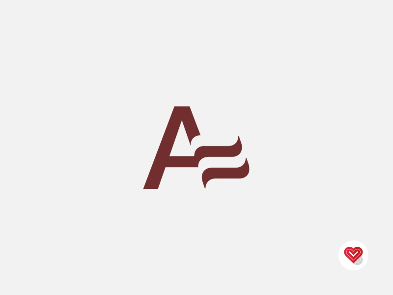 """A"" Flag vancouver cullimore concept identity logo design"