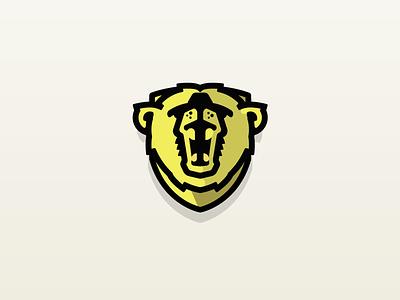 Bear Logo - RAWR! cullimore vancouver graphic design black badge 2d flat icon vector illustration logo design
