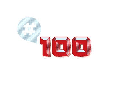 #100 cullimore vancouver flat design symbol icon vector typography graphic design illustration