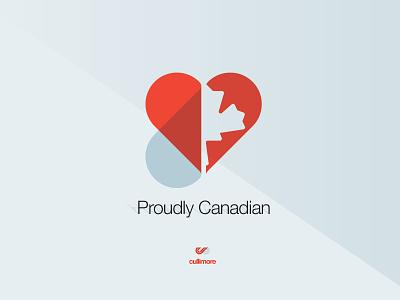 Proudly Canadian ui web craig cullimore cullimore vancouver symbol graphic design logo icon illustration typography branding vector design