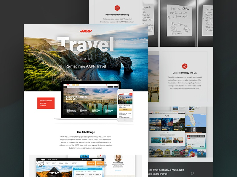 Aarp Case Study Template By Cecily Mullen Dribbble Dribbble