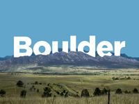 Boulder Postcard