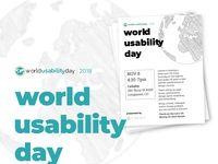 World Usability Day 2018