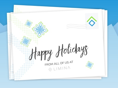 Limina Holidays illustration typography clean design ux mail holidays limina