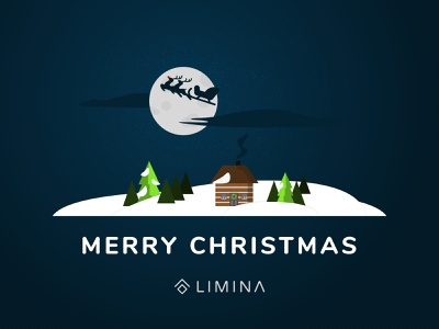Merry Christmas! limina illustration design holiday christmas