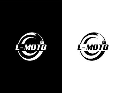 L-MOTO (Logo Design) fast speed bike simple logotype logodesign logo design motorcycle motorbike motor graphic design vector illustration logo design branding design branding brand identity brand design brand