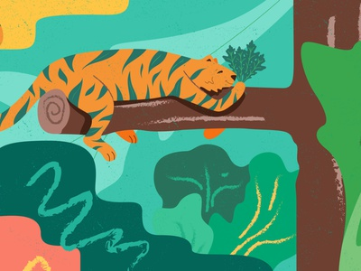 Vegan predators photoshop crocodile cheetah tiger predators predator cg art illustrator design illustration