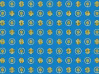 Sd dribbble blue pattern