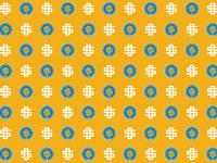 Sd dribbble gold pattern
