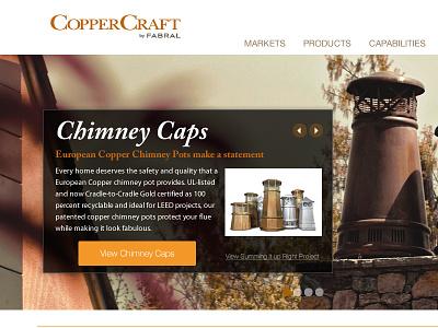 Sample of new client site webdesign website web design home page