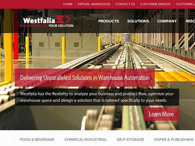 Westfalia Design Iterations website redesign ui responsive expressionengine