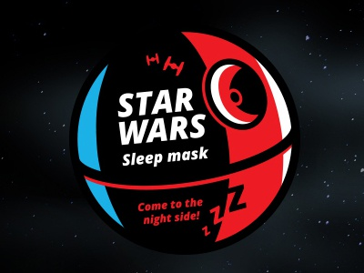 Star Wars / mask for sleep / package dark side stormtrooper death star darth vader star wars mask for sleep
