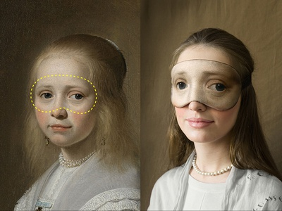 Masterpieces never sleep! Concept for Rijksmuseum. rijksstudio award sleep mask masterpieces never sleep! masterpiece