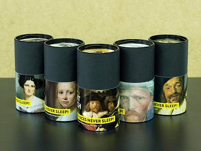 Masterpieces never sleep! Concept for Rijksmuseum. Packaging! rijksstudio award sleep mask masterpieces mask