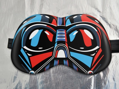 Darth Vader sleep mask!  sleep-mask mask present gift starwars stormtrooper darth vader
