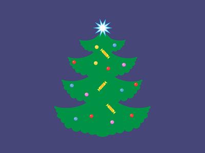 Christmas  Tree christmas icon free vector