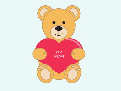Vector Teddy Bear teddyy bear vector bear st valentines day