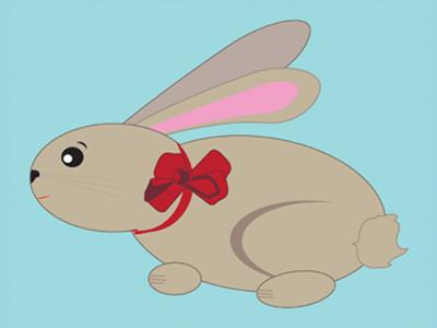 Rabbit vector free rabbit easter