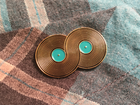 Infinity Record Pin