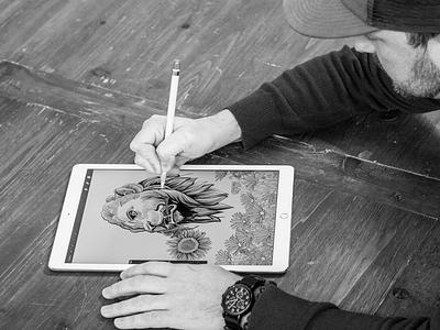iPad Pro Workshop chicago apple pencil apple illustration ipad pro