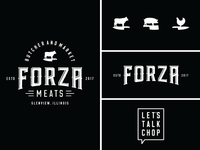 Forza Meats Lockup For Dribbble