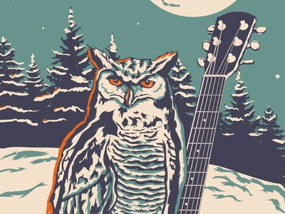 Holiday Concert Series Illustration
