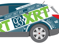 93xrt Car Wrap