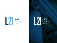 Law21 Logo law legal logo
