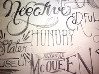 type sketches